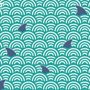 Sharks! Aquamarine