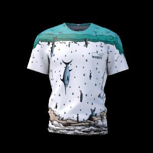 T-Shirts Uomo Water