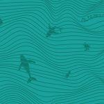 Lines Aquamarine